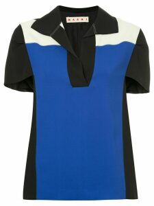 Marni colour block T-shirt - Black