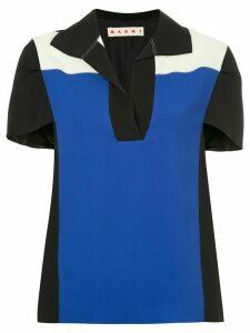 Marni colour block T-shirt - Black