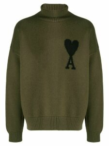 Ami Paris AMI de Coeur jumper - Green