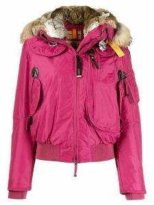 Parajumpers cropped hooded parka - Pink