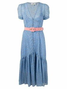 We Are Kindred Marseille belted midi dress - Blue