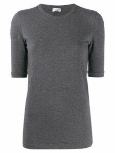 Brunello Cucinelli slim fit T-shirt - Grey