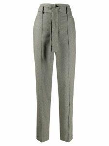 Isabel Marant Emilia high-waisted trousers - Grey