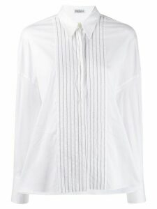 Brunello Cucinelli bead-embellished shirt - White