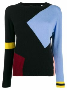 Chinti & Parker cashmere colour-block jumper - Blue