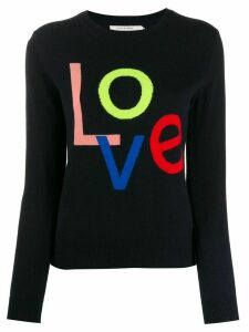 Chinti and Parker 'Love' cashmere jumper - Blue