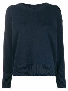 Kenzo loose-fit logo jumper - Blue
