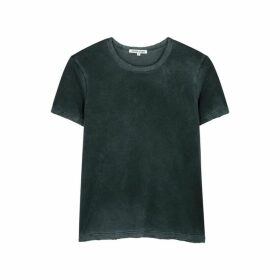 Cotton Citizen Dark Teal Cotton T-shirt