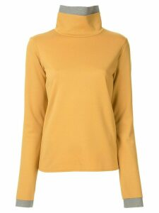 Le Ciel Bleu two-tone layered jumper - Yellow