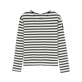 Moncler Mariniere Striped Cotton Top