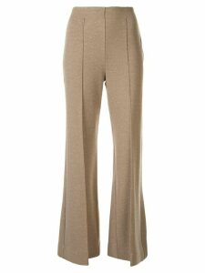 Irene Nepyarn jersey flared trousers - Brown