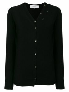 Le Ciel Bleu V-neck layered cardigan - Black
