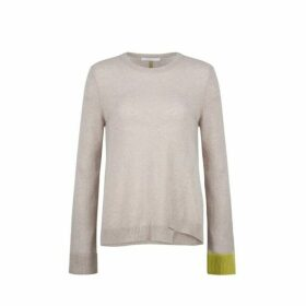 Duffy A-line Crew Neck With Colorblock Bell Sleeve