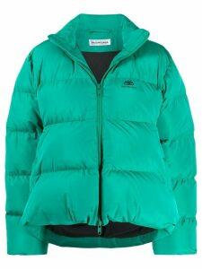 Balenciaga C-Shape puffer jacket - Green