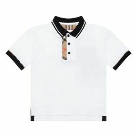 Burberry Contrast Polo Top