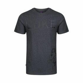 Luke 1977 Prints Cipality T-shirt Mrl Charcoal