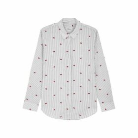 Rails Taylor Striped Cotton Shirt