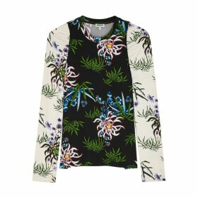 Kenzo Floral-print Stretch-jersey Top