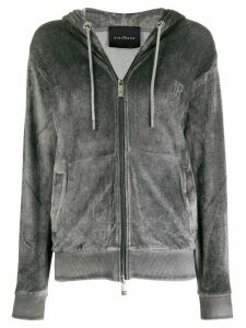 John Richmond Smith zipped hoodie - Grey