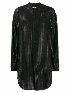 Saint Laurent striped blouse - Black