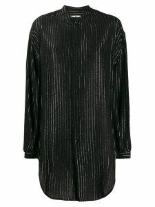 Saint Laurent striped blouse - Black