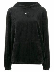 Nike corduroy effect hoodie - Black