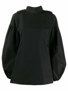 Valentino Micro-Faille top - Black