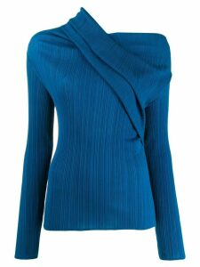 Nina Ricci one shoulder jumper - Blue
