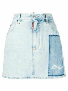 Dsquared2 Dalma patch denim skirt - Blue
