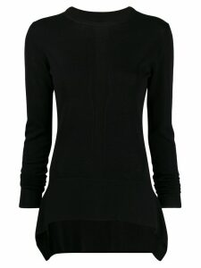 Rick Owens long sleeve top - Black