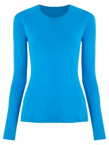 Track & Field UV Tech raglan sleeves blouse - Blue