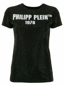 Philipp Plein T-shirt SS -23 Crystal - Black