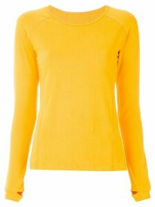 Track & Field Contemporânea Coolcotton Stretch blouse - Yellow