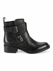 Best Of Leather Buckle Boots