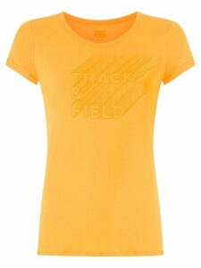 Track & Field Thermodry printed T-shirt - Yellow