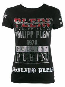 Philipp Plein 31 logos T-shirt - Black