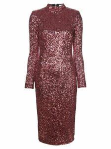 Rebecca Vallance sequin embellished dress - PINK
