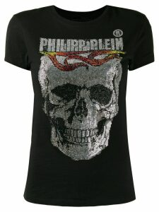 Philipp Plein Flame printed T-shirt - Black