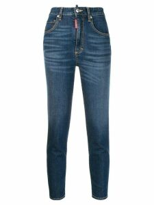Dsquared2 Twiggy cropped jeans - Blue
