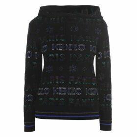 Kenzo Kenzo Knit Lgo Hood Ld01