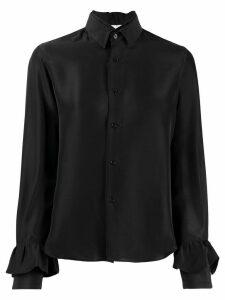 Comme Des Garçons Noir Kei Ninomiya layered collar shirt - Black