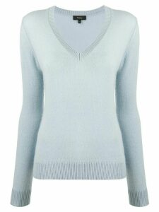 Theory cashmere knitted jumper - Blue