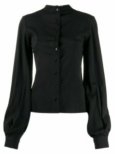 Lemaire bishop sleeve blouse - Black