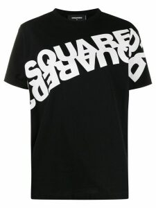 Dsquared2 double logo-print T-shirt - Black
