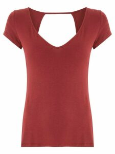 Track & Field Softmax cut out T-shirt - Red