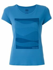 Track & Field Mar printed T-shirt - Blue