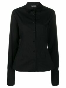Tom Ford button-down tailored shirt - Black