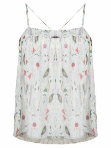 Isabel Marant Étoile all-over print top - White