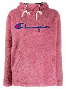 Champion knitted logo hoodie - PINK