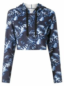 Track & Field Softmax cropped sweatshirt - Blue